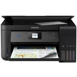 МФУ Epson L4160 цветное/струйное A4, 33/15 стр/мин, 100 листов, USB, СНПЧ, Wi-Fi