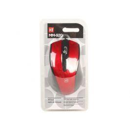 Мышь Defender MM-920 Black Red USB проводная, оптическая, 1200 dpi, 2 кнопки + колесо