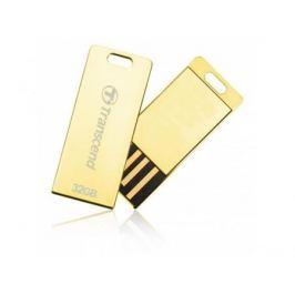 Флешка USB 32Gb Transcend Jetflash T3G TS32GJFT3G золотистый