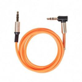 Аудио-кабель Ritmix RCC-247 Orange Jack-Jack 3,5 мм, 1м, мет. коннекторы