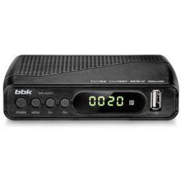 Цифровой телевизионный DVB-T2 ресивер BBK SMP145HDT2 тёмно-серый
