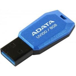 Флешка USB 8Gb A-Data UV100 AUV100-8G-RBL синий USB 2.0