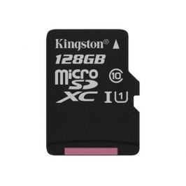 Карта памяти MicroSDXC 128GB Kingston Canvas Select 80R CL10 UHS-ISP без адаптера (SDCS/128GBSP)