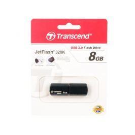 Внешний накопитель 8GB USB Drive Transcend JetFlash 320 черный (TS8GJF320K) USB 2.0