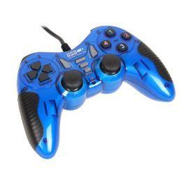 Геймпад 3Cott Single GP-06,14 кнопок, вибрация, USB,синий