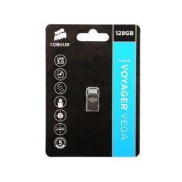 Флешка USB 128Gb Corsair Voyager Vega CMFVV3-128GB серебристый