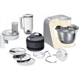 Кухонный комбайн Bosch MUM58920 серебристо-ванильный