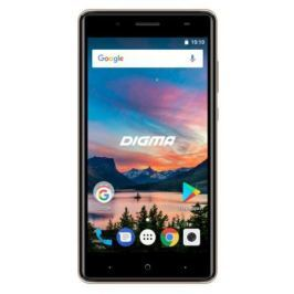 Смартфон Digma HIT Q500 3G HT5035PG Gold Spreadtrum SC7731C (1.3)/8 Gb/1 Gb/5'' (854x480)/DualSim/3G/BT/Android 7.0