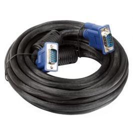 Кабель монитор-SVGA card (15M-15M) 5.0м 2 фильтра VCOM [VVG6448-5M]