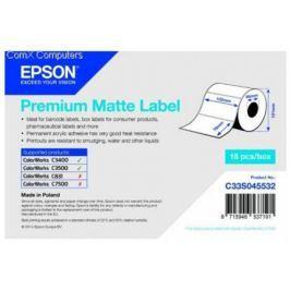 Бумага Epson Premium Matte Label 102x76мм C33S045532