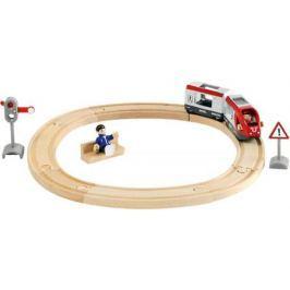 Железная дорога Brio со светофором