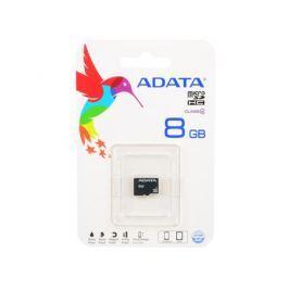 Карта памяти Micro SDHC 8GB Class 4 A-Data AUSDH8GCL4-R