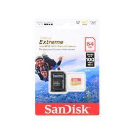 Карта памяти Micro SDXC 64Gb Class 10 Sandisk SDSQXAF-064G-GN6AA