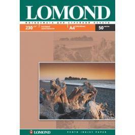 0102016 бумага LOMOND (A4, 230гр, 50л) Photo Матовая , одностор.