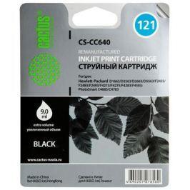 Картридж Cactus CS-CC640 №121 (черный) для HP DeskJet D1663/D2563/D2663/D5563/F2423/F2483/F2493/F4213/F4275/F4283/F4583; C4683/C4783