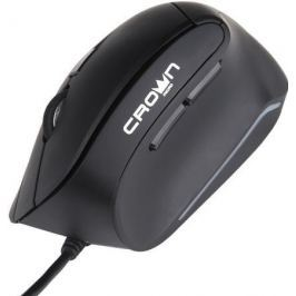 Мышь проводная Crown CMM-960 Health чёрный USB