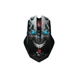 Мышь A4Tech Bloody R8 metal feet Skull design черный оптическая (4000dpi) беспроводная USB игровая (8but)