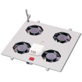 Вентиляторный модуль Estap M55HV4FSTG 4 вентилятора термостат для шкафов ServerMAX серый