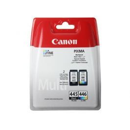 Набор картриджей Canon PG-445/CL-446 для MG2440/2540. Чёрный/Цветной. 2*180 страниц.