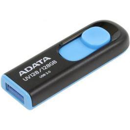 Флешка USB 128Gb A-Data UV128 USB3.0 AUV128-128G-RBE черный синий