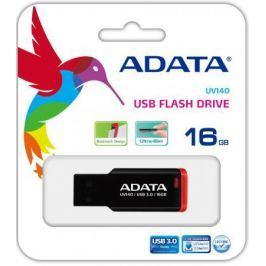 USB флешка A-Data UV140 16GB Black Red (AUV140-16G-RKD) USB 3.0