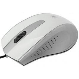 Проводная оптическая мышь Defender MM-920 белый+серый,3 кнопки