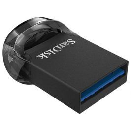 Внешний накопитель 64GB USB Drive (USB 3.1) Sandisk ULTRA FIT черный (SDCZ430-064G-G46)