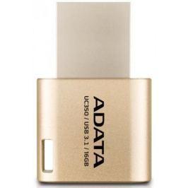USB флешка A-Data UC350 16GB Gold (AUC350-16G-CGD) USB3.1, Type-C / 100 МБ/cек / 15 МБ/cек