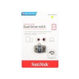 USB флешка SanDisk Ultra Dual Drive 256GB Black (SDDD3-256G-G46) USB 3.0, microUSB
