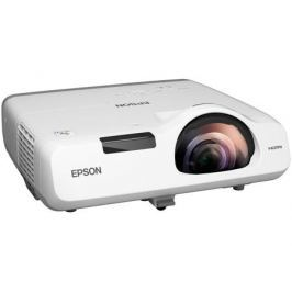 Проектор Epson EB-520 (V11H674040) основной формат - 4:3, XGA (1024х768), 2700 lm, 16 000:1, RJ45 x1, 3.7 кг.