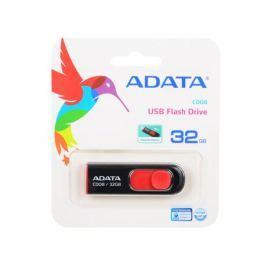 Внешний накопитель 32GB USB Drive (USB 2.0) A-data C008 Black Red