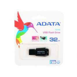 Внешний накопитель 32GB USB Drive (USB 2.0) A-DATA UV100 черный (AUV100-32G-RBK)