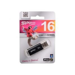 USB флешка Silicon Power Ultima II I-series Black 16GB (SP016GBUF2M01V1K)