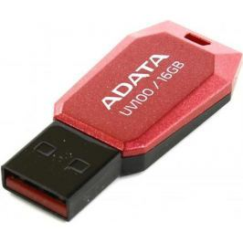 Флешка USB 16Gb A-Data UV100 USB2.0 AUV100-16G-RRD красный