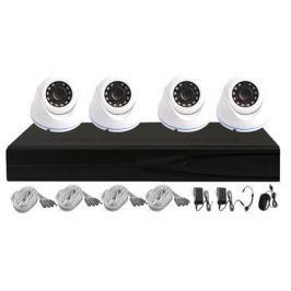 Комплект видеонаблюдения ORIENT XVR+4/720p гибридный регистратор 3в1: AHD 720p/ CVBS 960H/ IP 720p (4 видео/4 аудио, HDD SATA до 4Tb, LAN, 2хUSB, HDMI