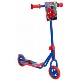 Самокат двухколёсный 1TOY Marvel: Человек-паук синий 8887856584142