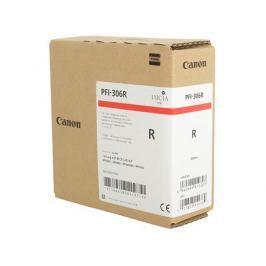 Картридж Canon PFI-306 R для плоттера iPF8400SE/8400/9400. Красный. 330 мл.