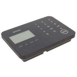 Комплект GSM охранной сигнализации GINZZU HS-K02BL Ver. 2, Контрольная панель с LCD экраном и сенсорными кнопками, 2 датчика движения, 1 дверной/оконн