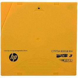 Ленточный носитель HP Ultrium LTO3 data cartridge 800GB RW C7973A