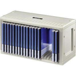 Подставка Hama CD-Rack H-48402 для 20 СD пластик серебристый