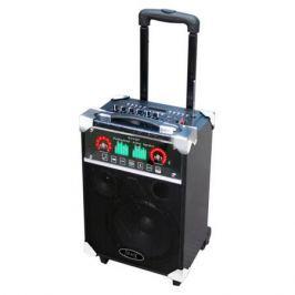Портативная колонка MAX Q 67, Black (30006) (75 Вт, 100 - 18 000 Гц, Bluetooth, mini Jack, Jack, USB, MDF, батарея)