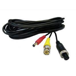 Переходник Orient AVIA to BNC-0.3 Кабель-адаптер для камер видеонаблюдения, AVIA F -) BNC F видео + питание, 0.3 метра