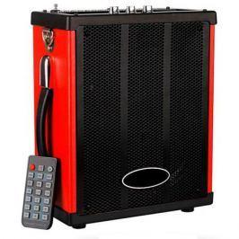 Портативная колонка MAX Q71, Black/Red (30054) (20 Вт, 100 - 18000 Гц, Bluetooth, mini Jack, Jack, USB, Micro SD, батарея)