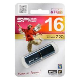 USB флешка 16GB USB Drive (USB 2.0) Silicon Power LuxMini 720 Dark Blue (SP016GBUF2720V1D)