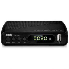 Цифровой телевизионный DVB-T2 ресивер BBK SMP145HDT2 Черный