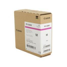 Картридж Canon PFI-306 M для плоттера iPF8400SE/8400S/8400/9400S/9400. Пурпурный. 330 мл.