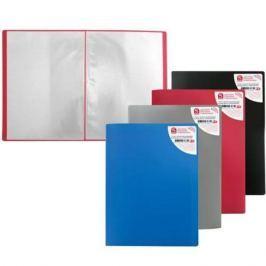 Папка с 40 файлами, форзац, ф.А4, ассорти