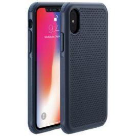 Чехол-накладка Just Mobile Quattro Air для iPhone X. Материал пластик. Цвет: синий.