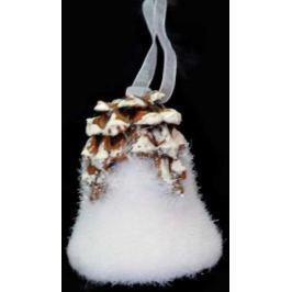Украшение декоративное ЛЕСНОЙ КОЛОКОЛЬЧИК, 1 шт, 7,5 см., полимерный материал, в пакете