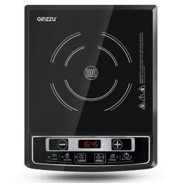 Плитка индукционная GINZZU HCI-102 черная, 2000Вт., сенсорное управление, 1 конфорка